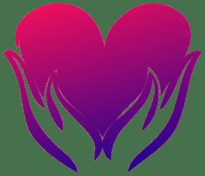 pink healing heart image