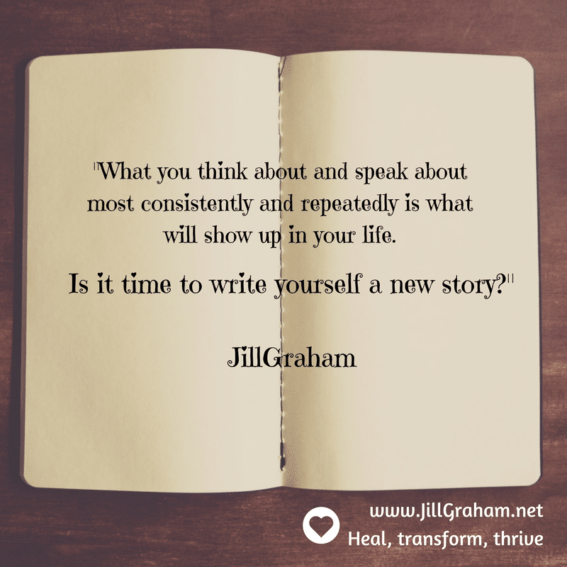 write a new story quote jill graham
